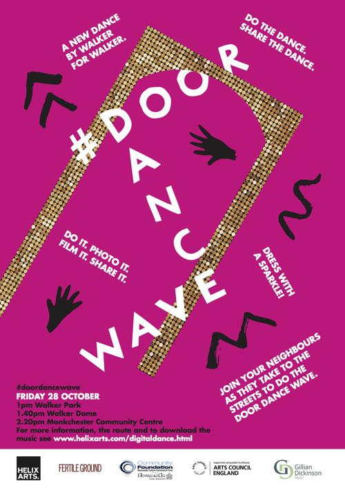 Promotional poster for Door Dance Wave