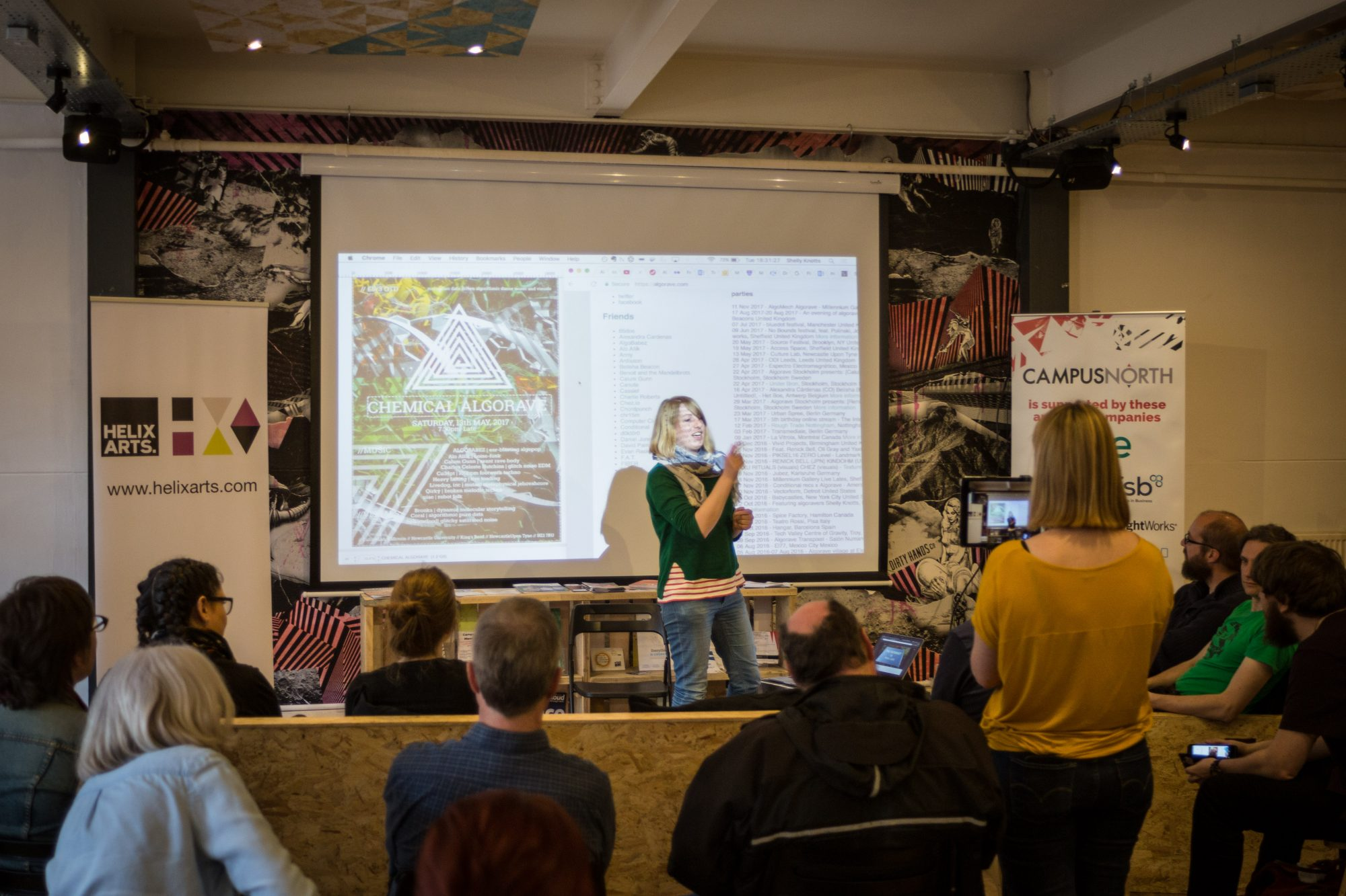 Image of Artists' event